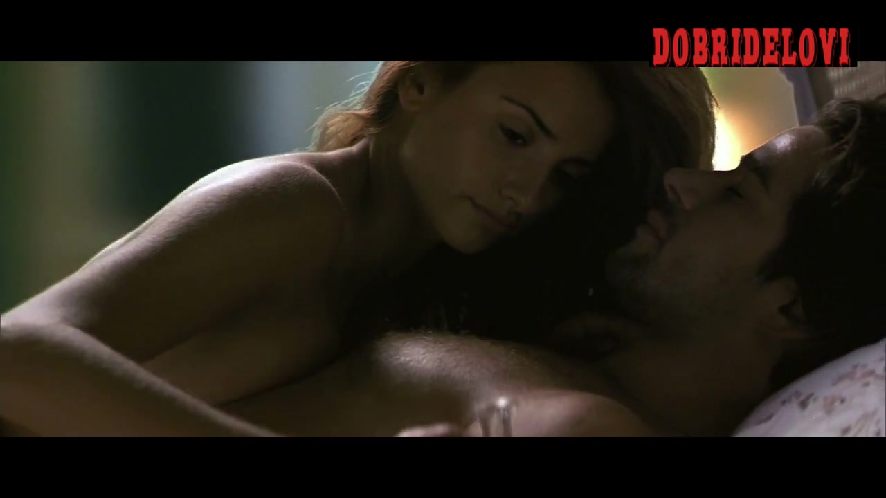 Penélope Cruz licking chest scene from Woman on Top