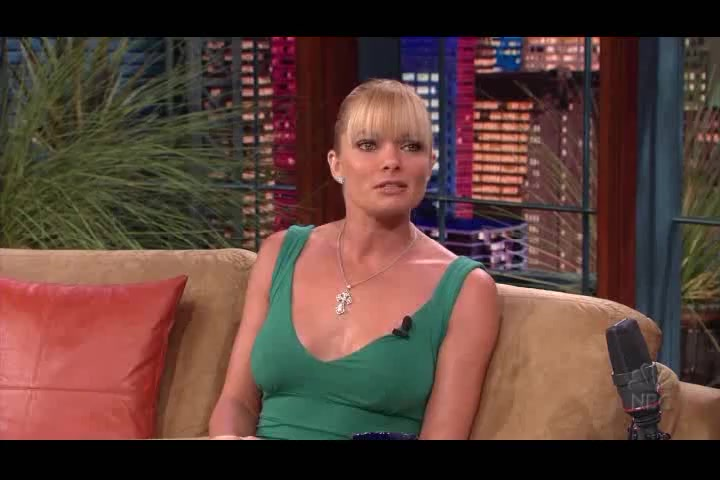 Jaime Pressly interviewed on The Tonight Show