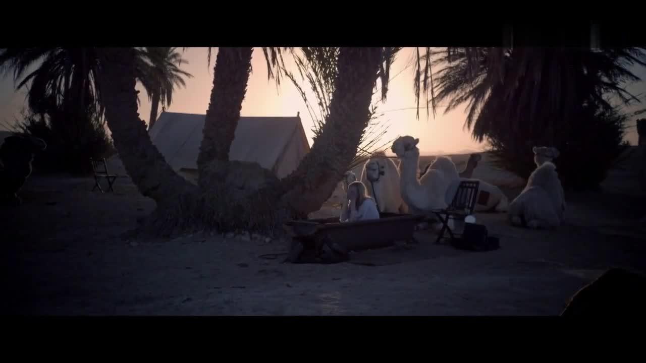 Nicole Kidman sexy scene from Queen of the Desert
