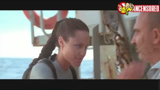 Angelina Jolie sexy scene - Lara Croft Tomb Raider The Cradle of Life