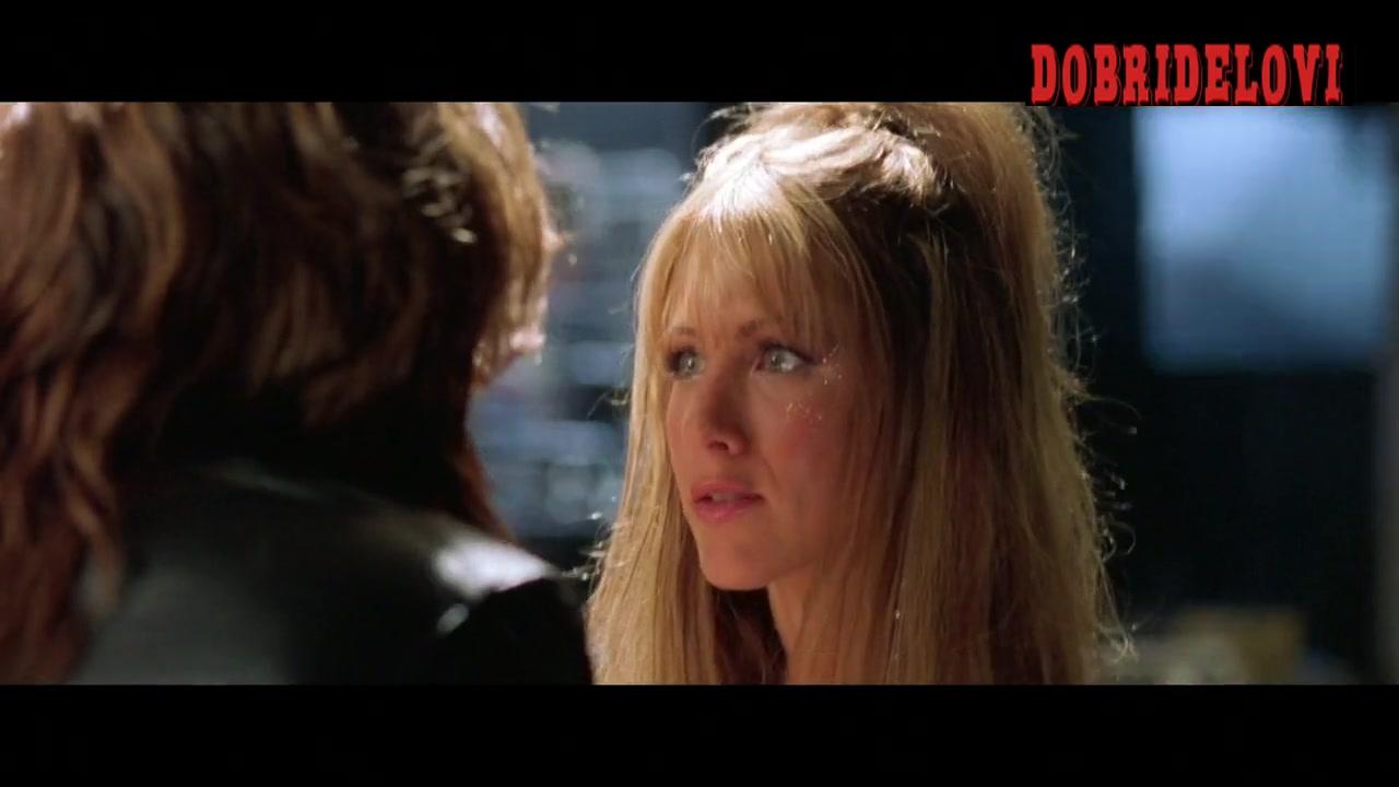 Jennifer Aniston butt crack scene from Rock Star
