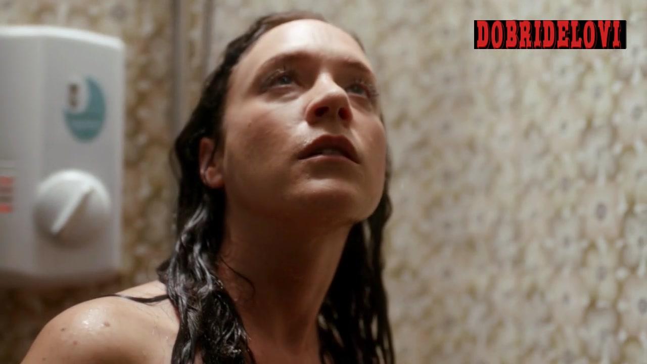 Chloë Sevigny shower exposed scene from Hit & Miss