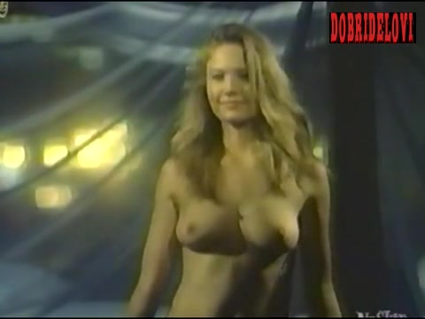 Diane Lane topless scene from Lady Beware