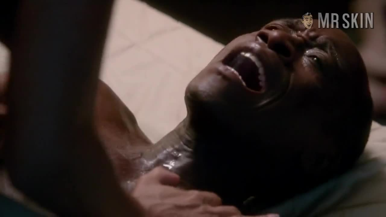 Salli Richardson-Whitfield nude scene from House of Lies