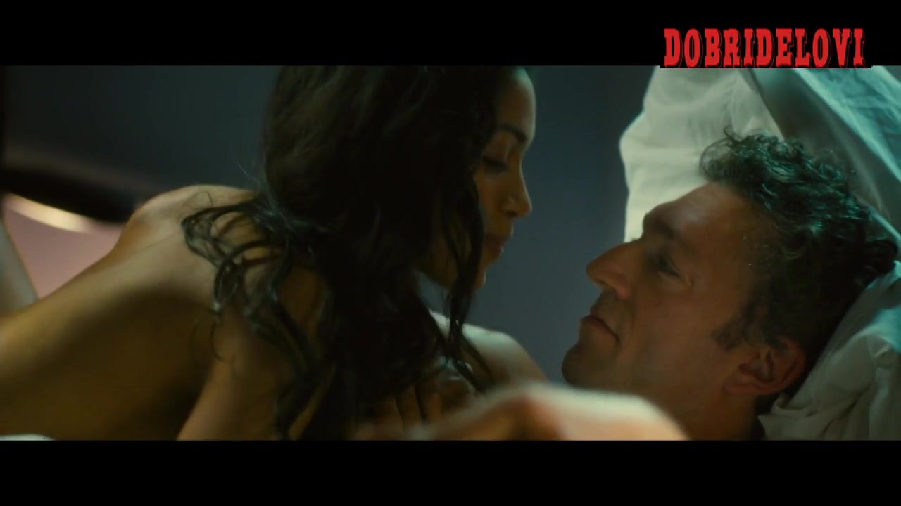 Rosario Dawson nude in bed with Vincent Cassel