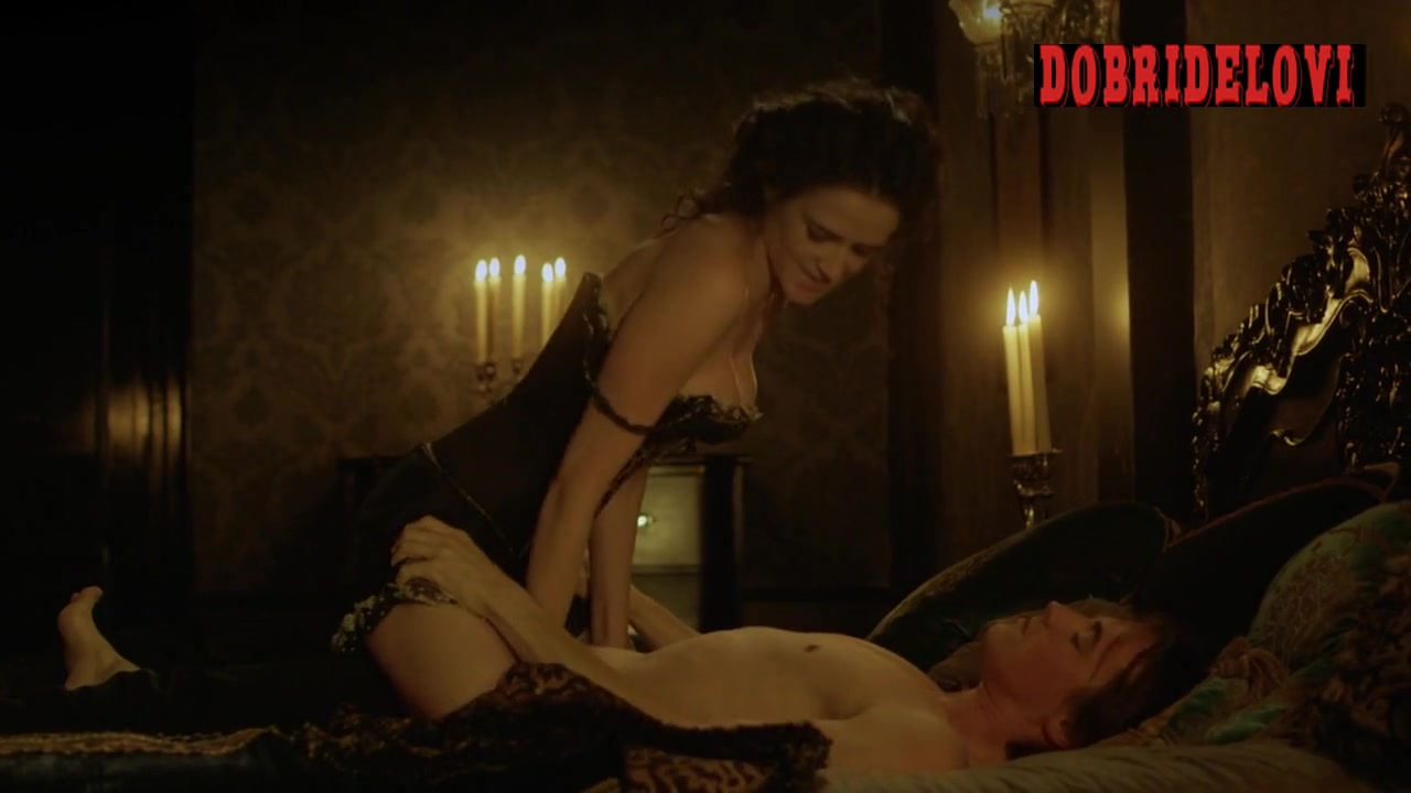 Eva Green sex rides guy scene from Penny Dreadful