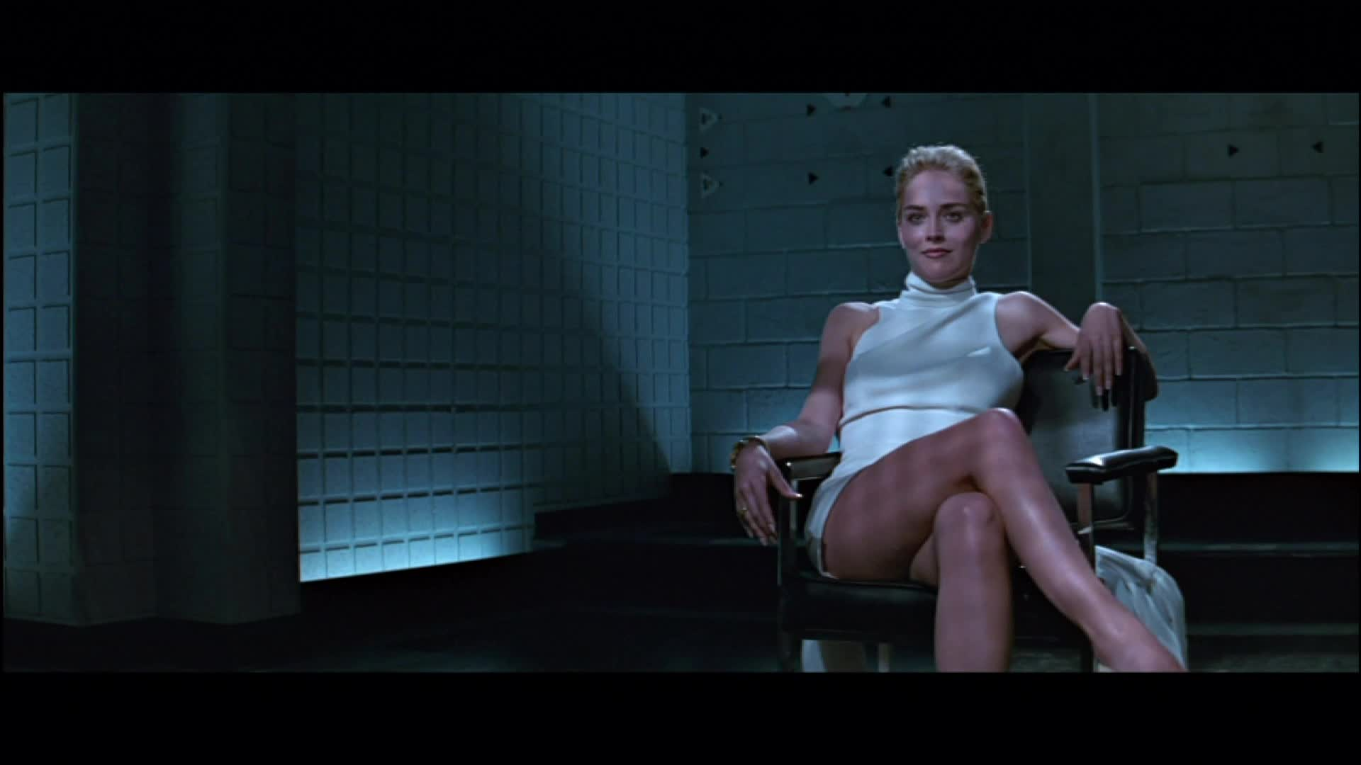 A-lister with most nude scenes - Sharon Stone