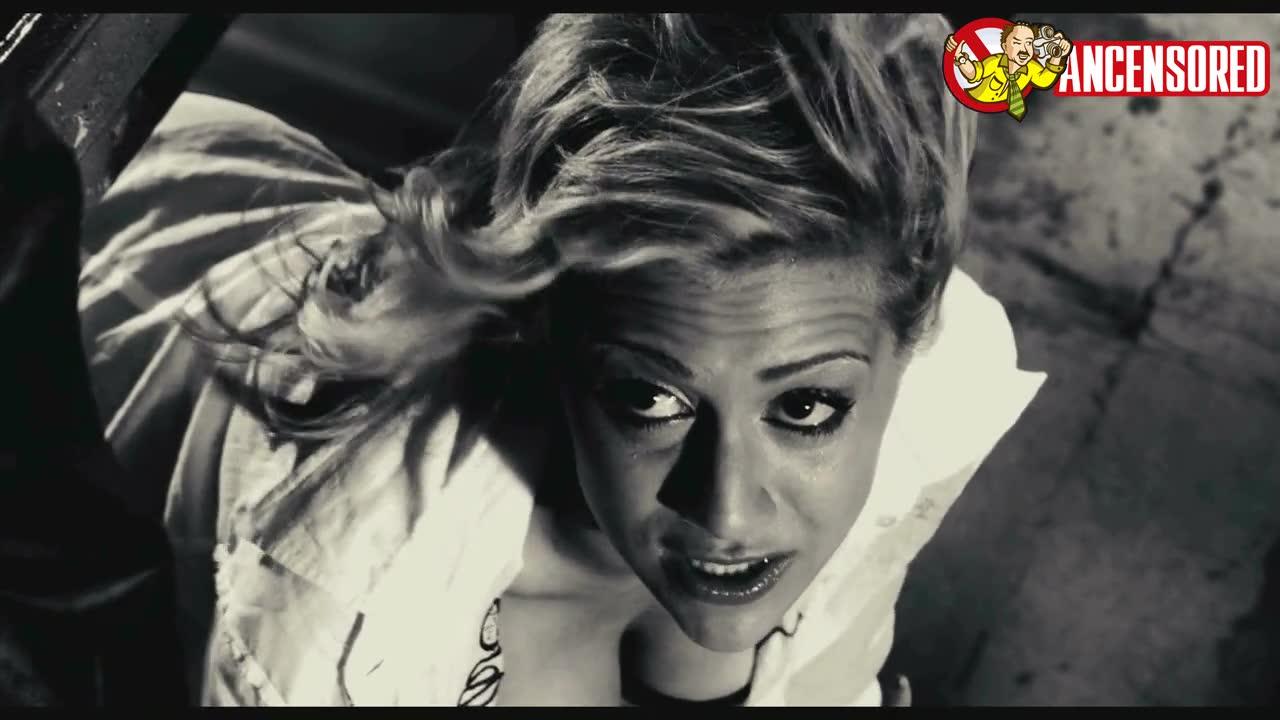 Brittany Murphy scene from Sin City