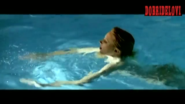Morgan Fairchild nude pool scene from The Seduction