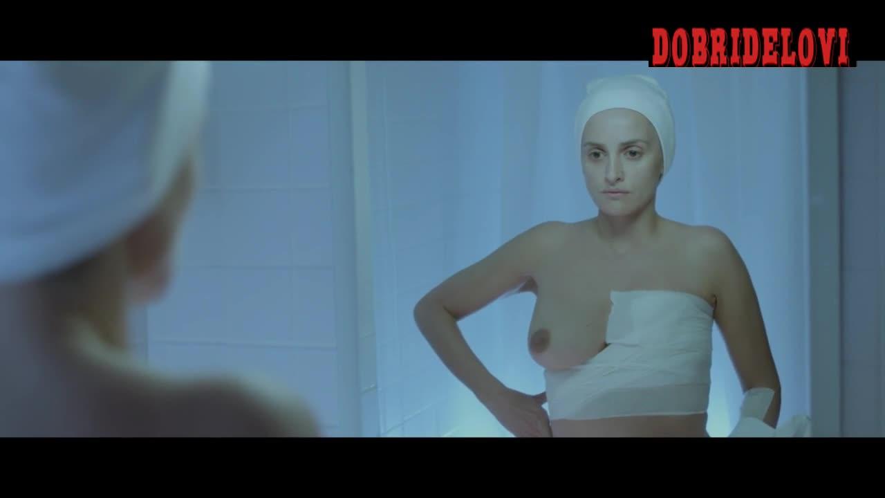 Penelope Cruz one boob out -- Ma Ma