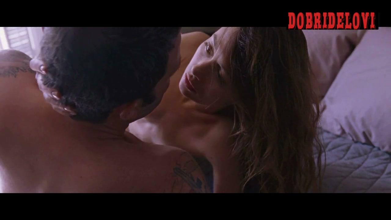 Olga Kurylenko rolls in bed with Ben Affleck in To The Wonder
