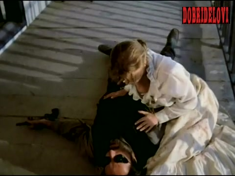 Elisabeth Shue breast popping out scene from Blind Justice