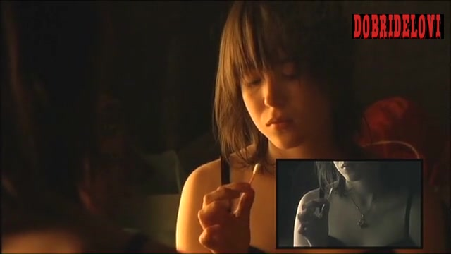 Ellen Page breast fondling scene from The Tracey Fragments