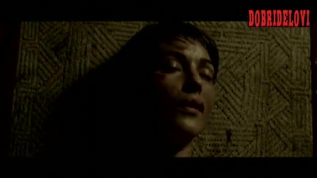 Monica Bellucci nude on shaman's table scene from Le Concile de Pierre