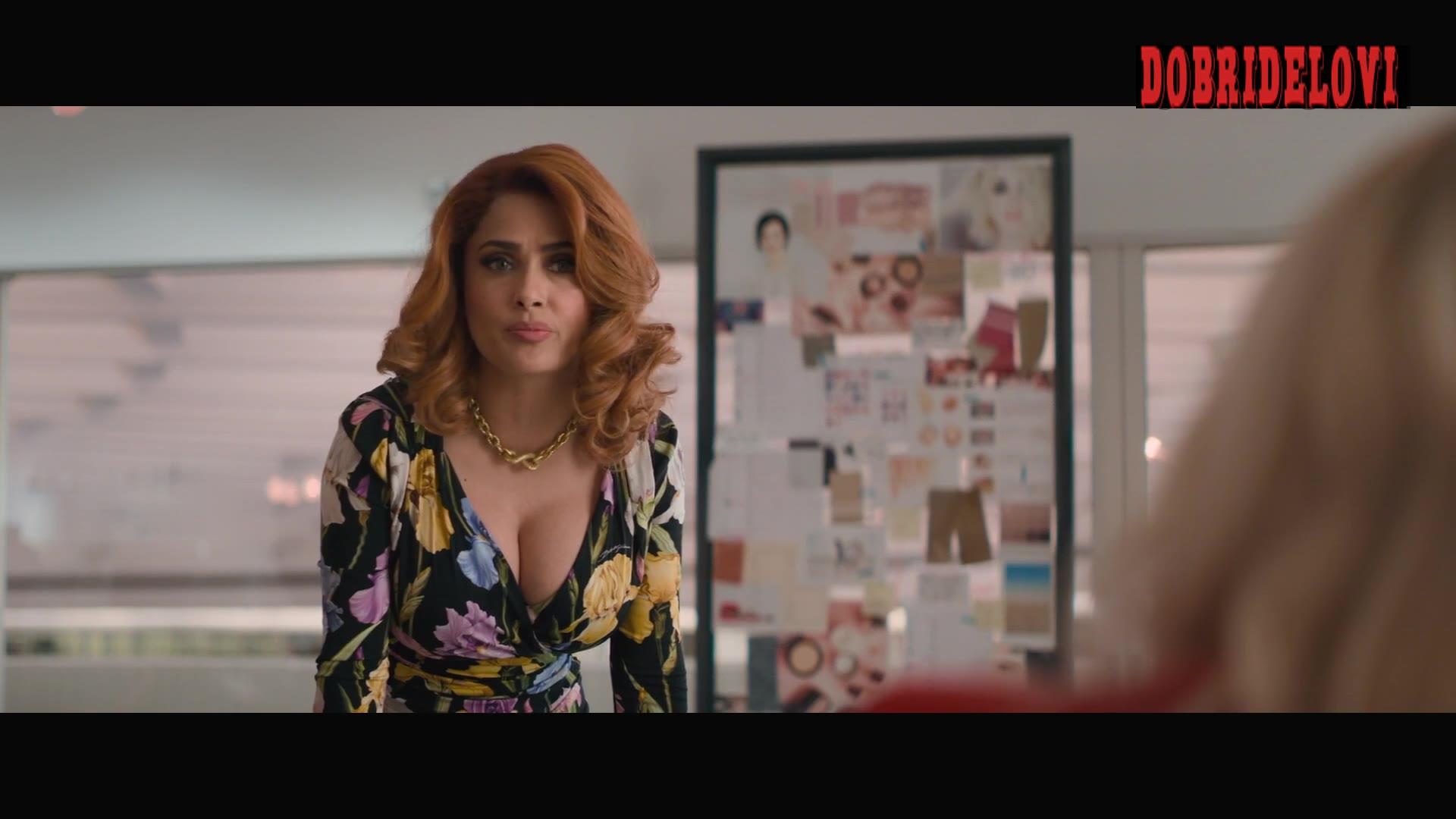Salma Hayek glorious cleavage Like a Boss