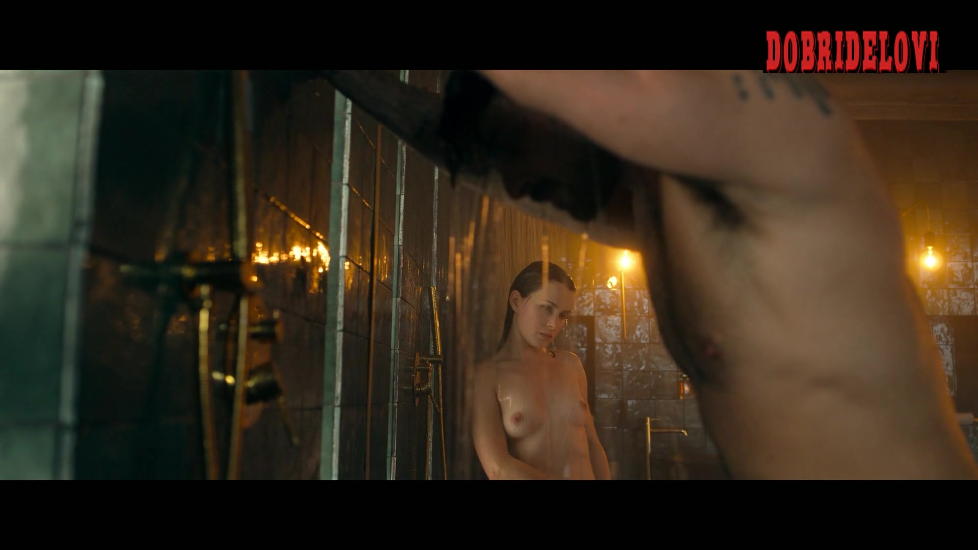 Anna Maria Sieklucka undressing and sex shower scene from 365 days