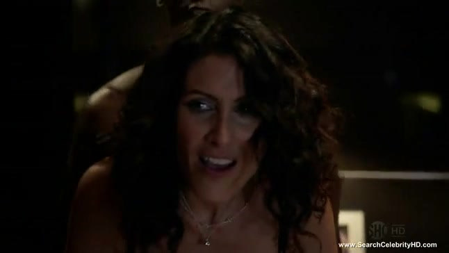 Lisa Edelstein nude scene from House of Lies