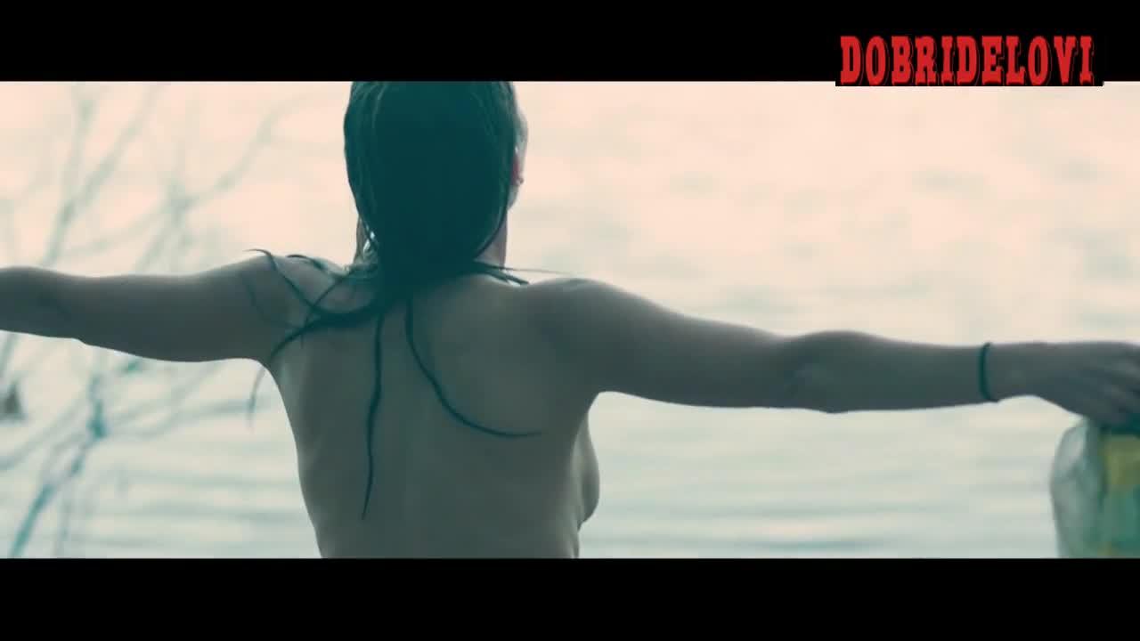 Stephanie Ellis removing bathing suit scene from The Sleepwalker