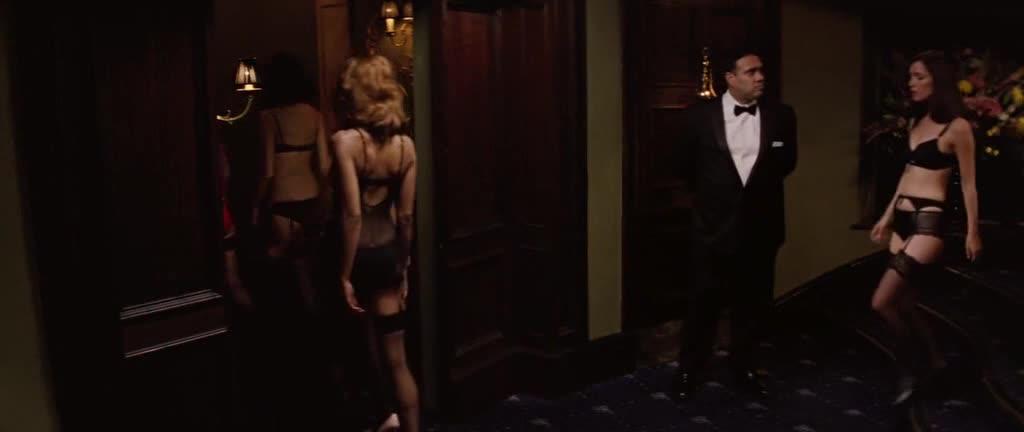 Rose Byrne scene from X Men First Class