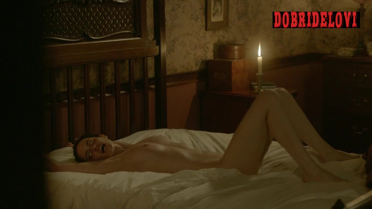 Eva Green nude and possessed in bed scene from Penny Dreadful