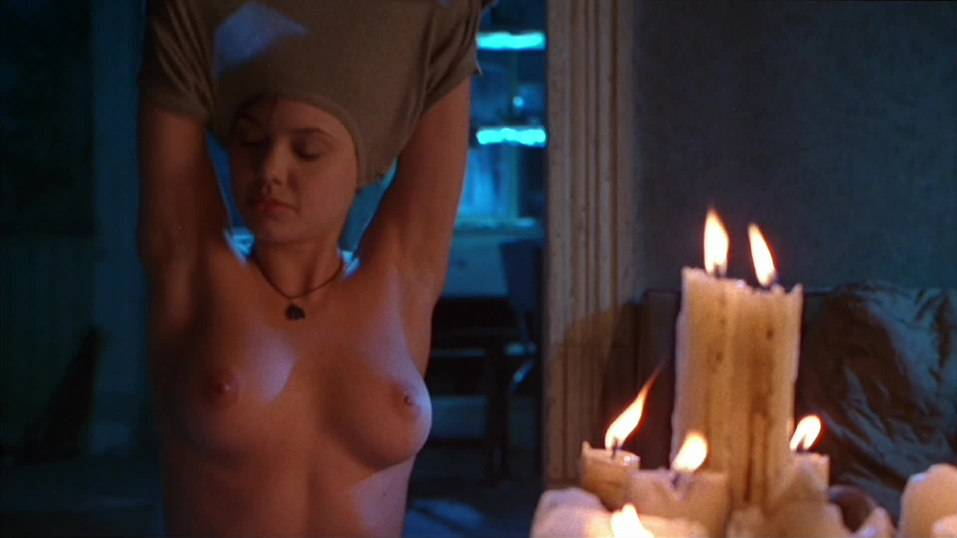 A-lister with most nude scenes - Angelina Jolie