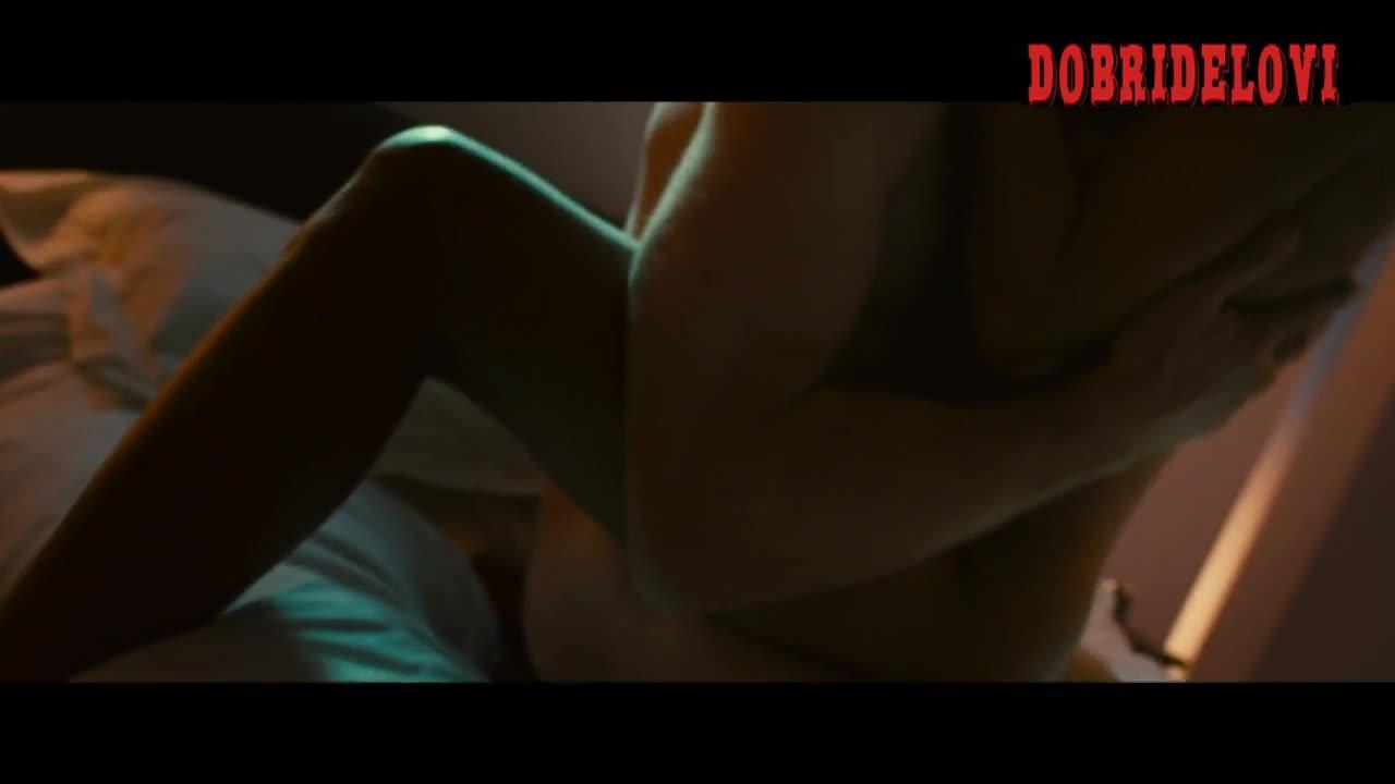 Rosario Dawson riding Vincent Cassel in Trance