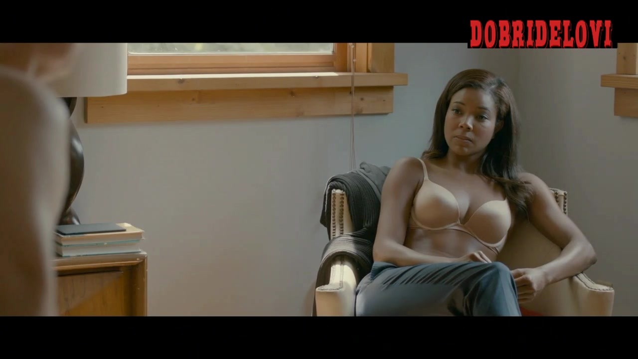 Gabrielle Union looking out window scene from In Our Nature