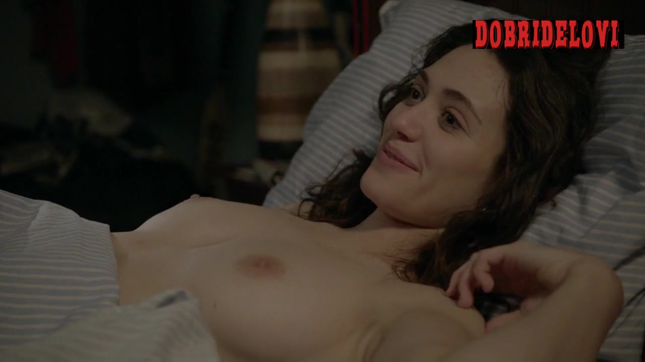 Emmy Rossum missionary and post sex  scene from Shameless