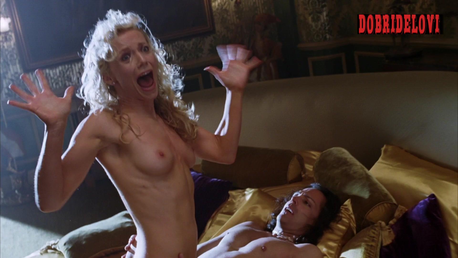 Tanja Reichert topless acting scene
