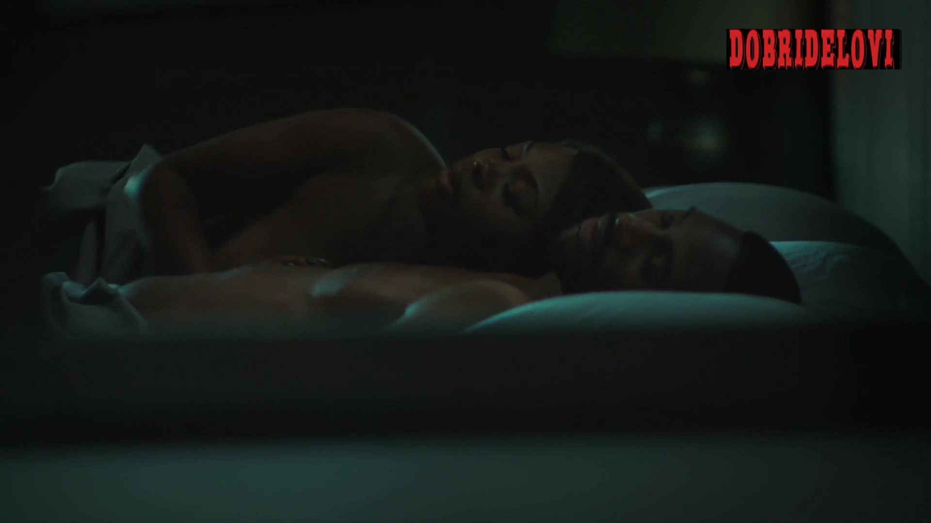Naturi Naughton post coital scene in Power Season Finale
