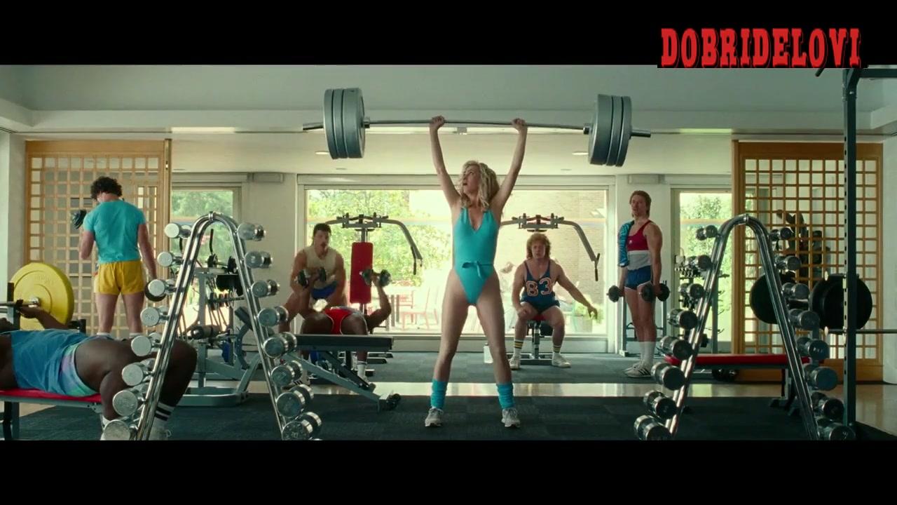 Watch Kristen Wiig sexy lifting weights scene from Wonder Woman 1984 video