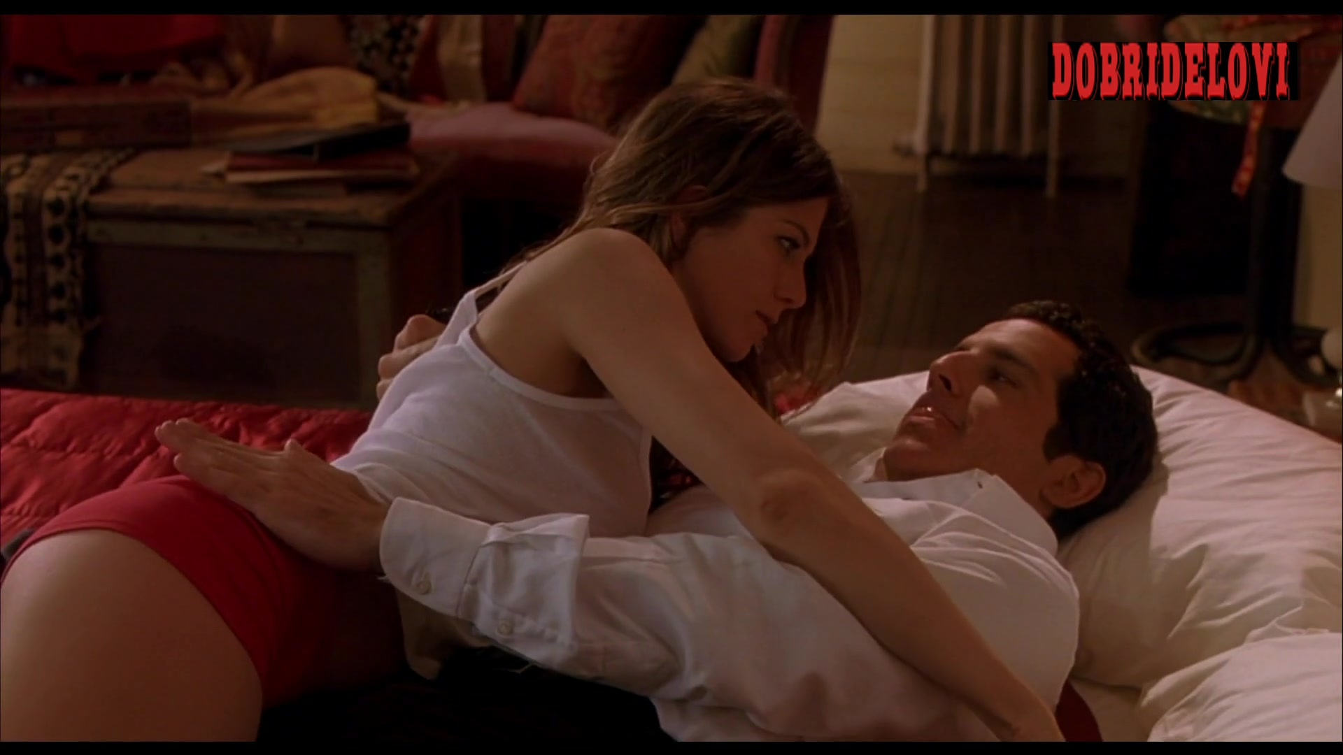 Jennifer Aniston ass spanking scene from Along Came Polly