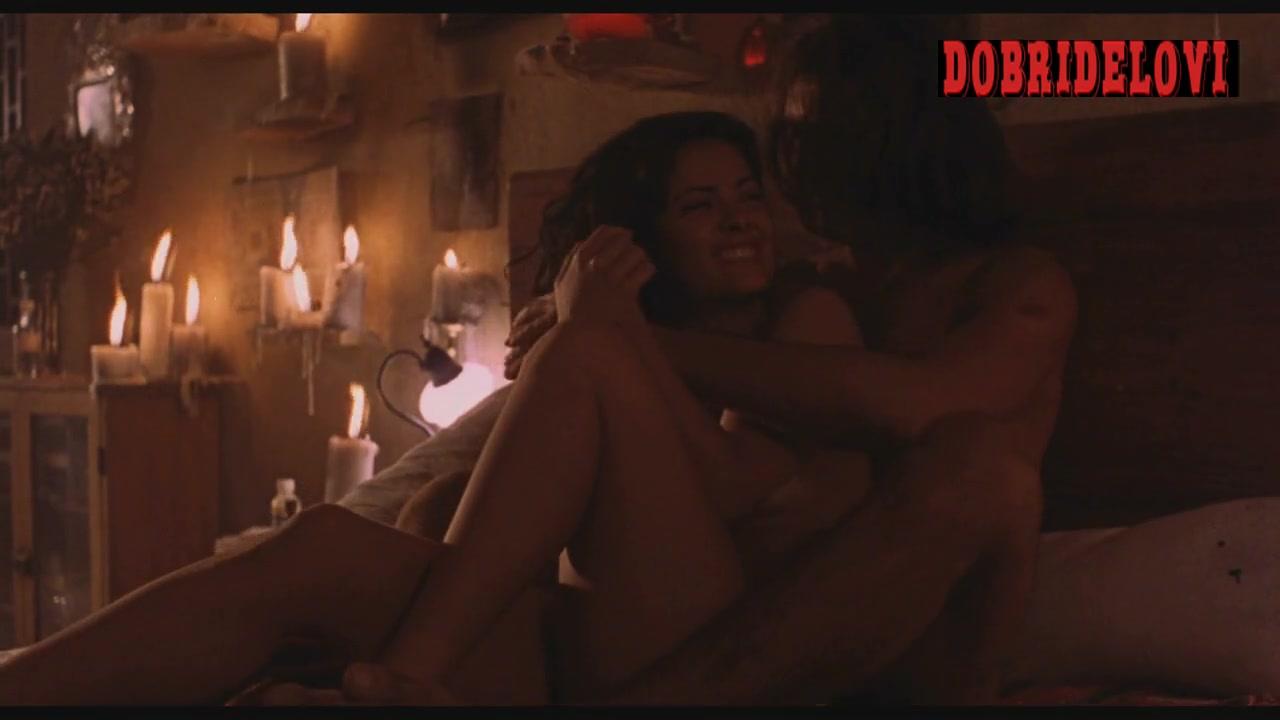 Salma Hayek sensual scene with Antonio Banderas from Desperado