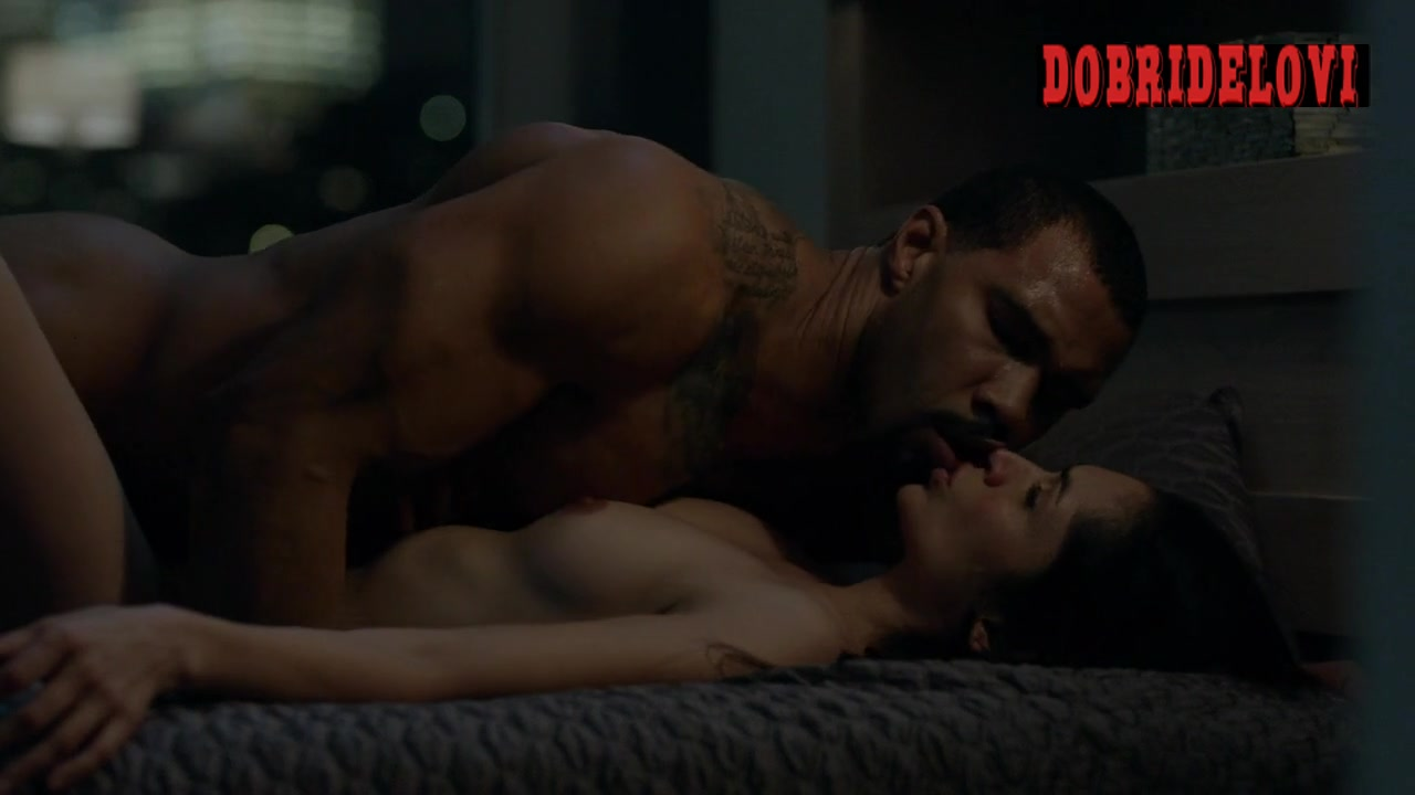 Leslie Lopez does Luis Antonio Ramos and Lela Loren does Omari Hardwick