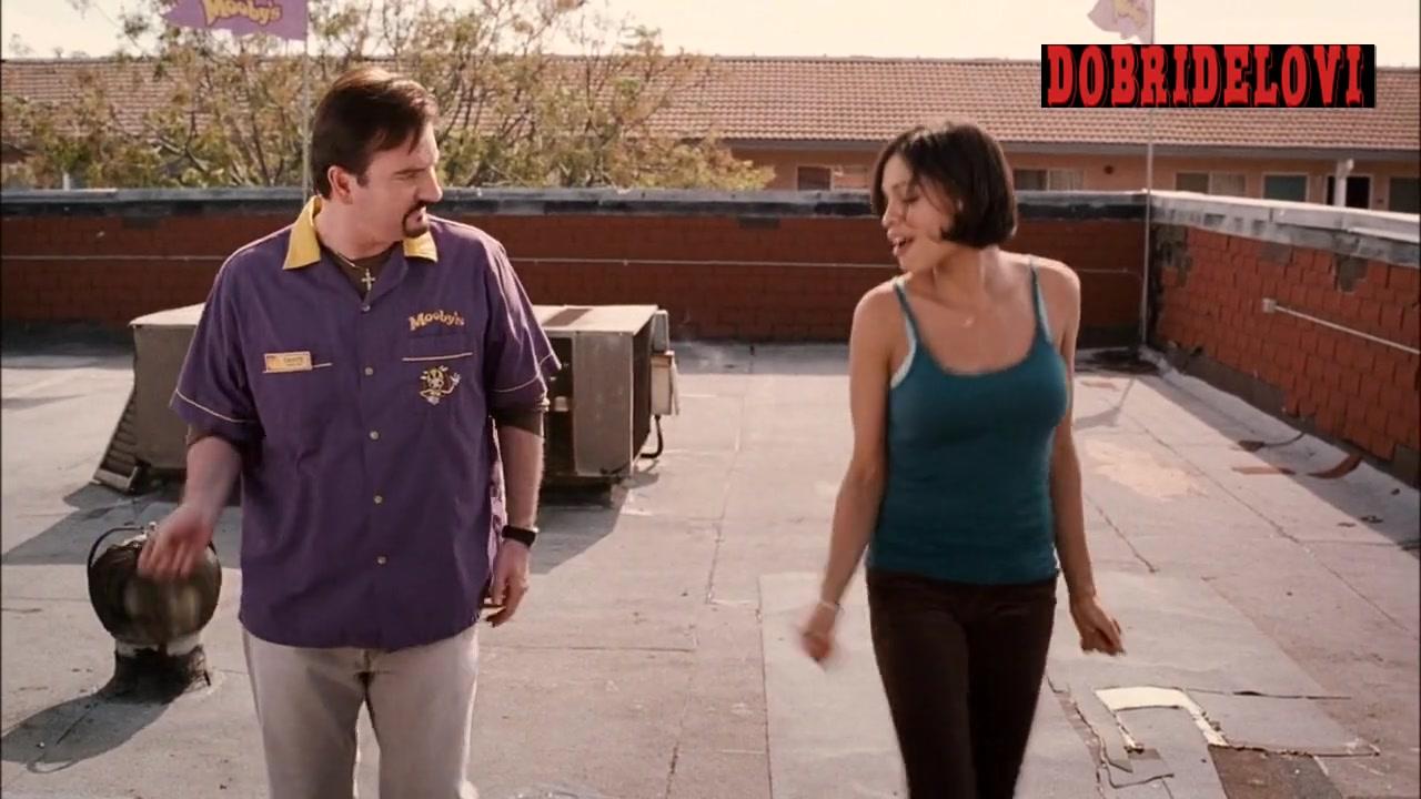 Rosario Dawson teaches Brian Ohalloran how to dance in Clerks 2