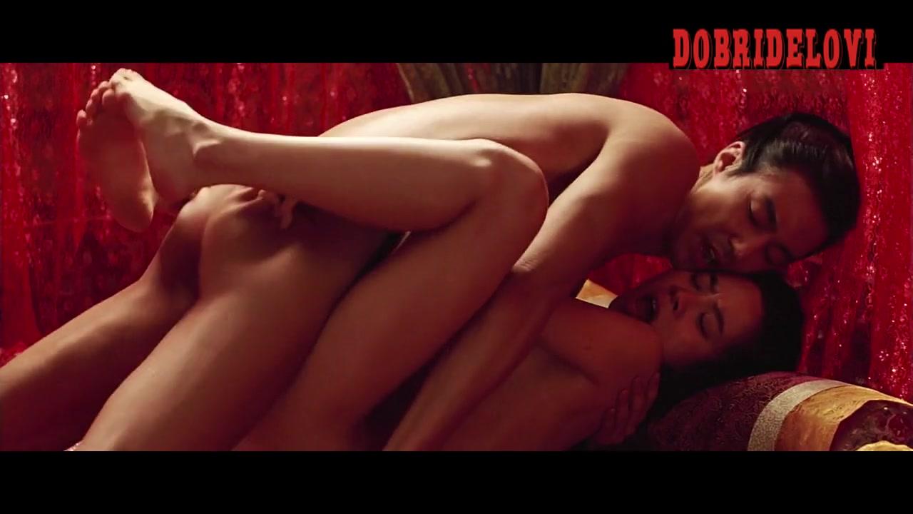 Song Ji-hyo long sex scene from A Frozen Flower