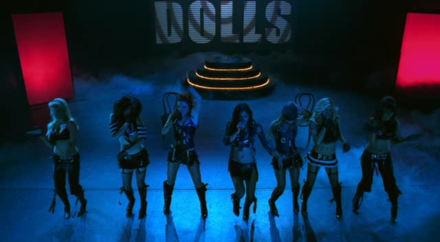 Vanessa Marcil performs with The PussyCat Dolls