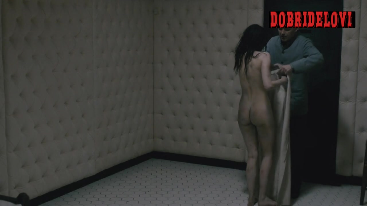 Eva Green nude in the insane asylum scene from Penny Dreadful