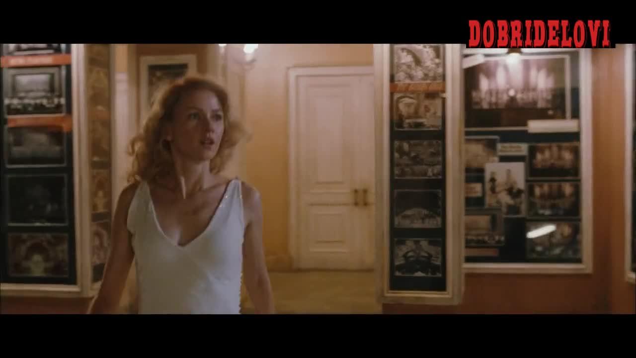 Naomi Watts sexy white dress scene in King Kong
