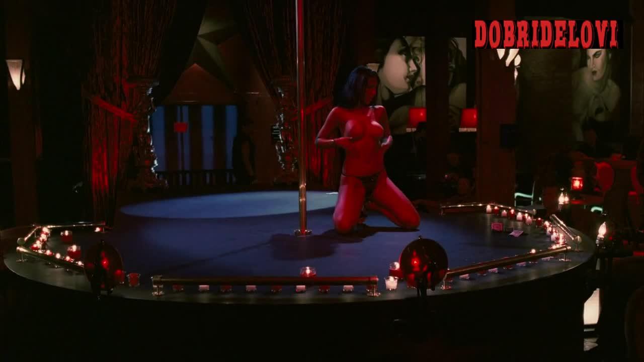 Diana Prince strip club scene from Powder Blue