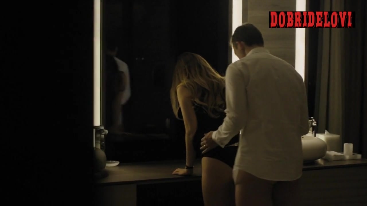 Riley Keough sex against the sink scene from The Girlfriend Experience
