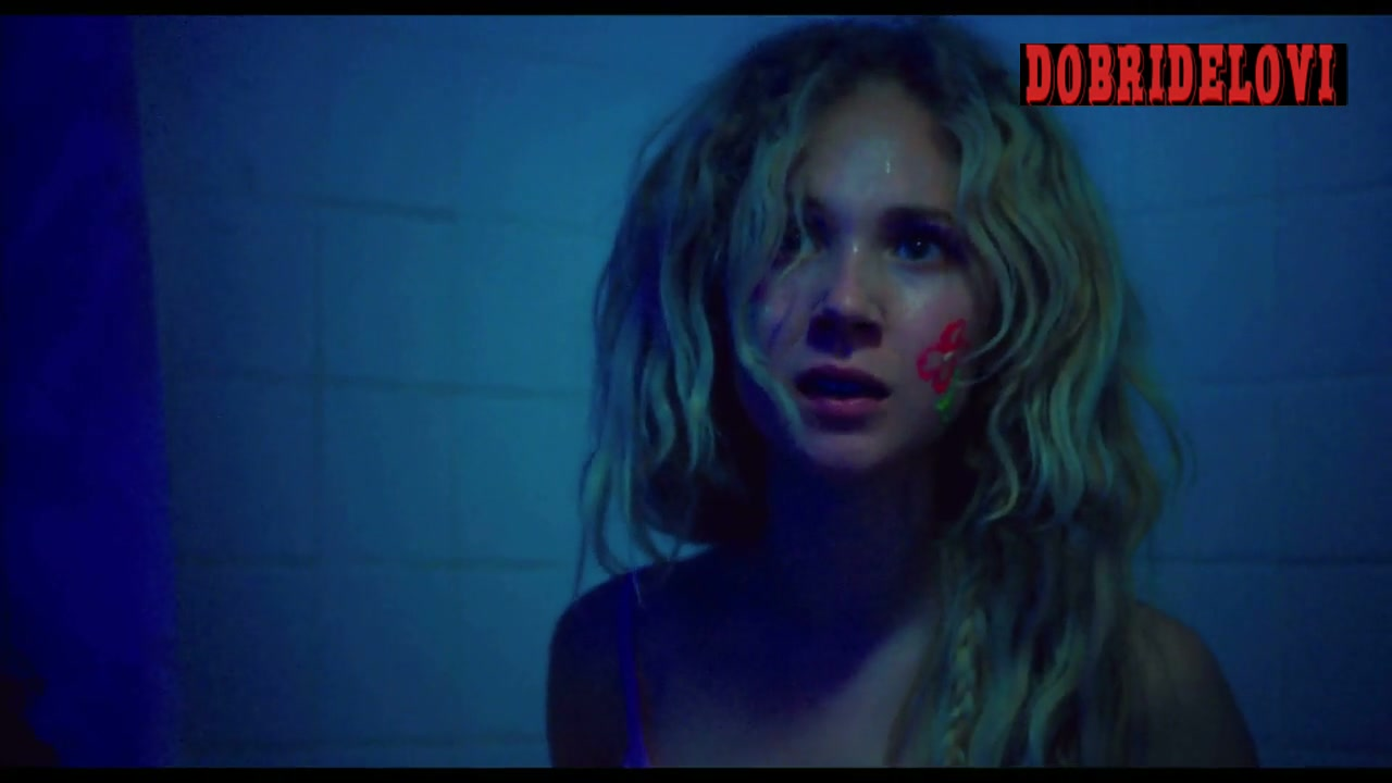 Juno Temple glitter scene from Jack and Diane