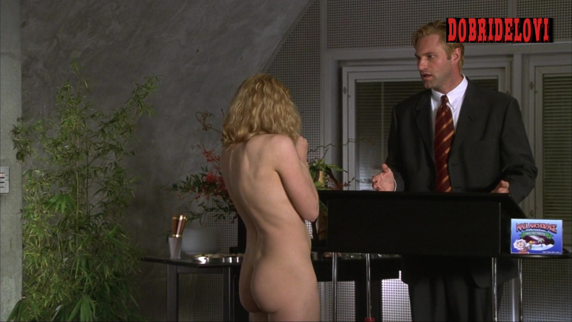 Elisabeth Shue undresses in the office scene from Molly