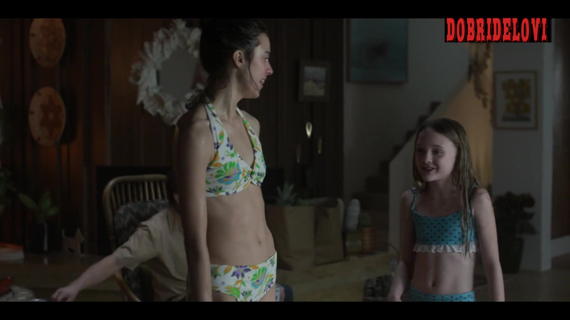Watch Margaret Qualley white bikini scene from Fosse/Verdon video