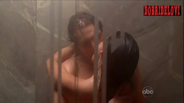 Lucy Liu shower scene from Dirty Sexy Money