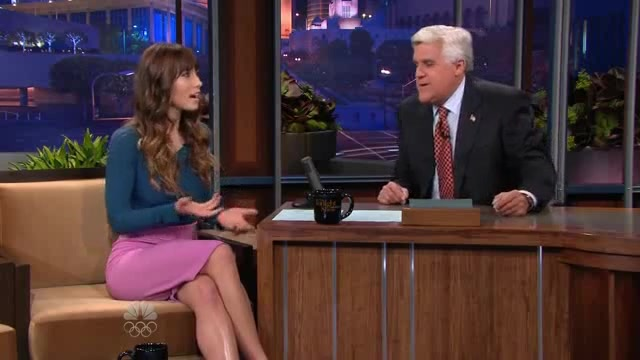 Jessica Biel scene in The Tonight Show