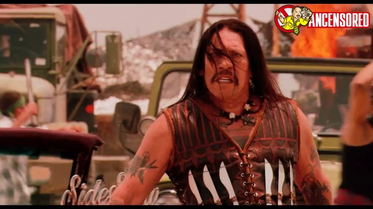 Michelle Rodriguez must watch clip - Machete