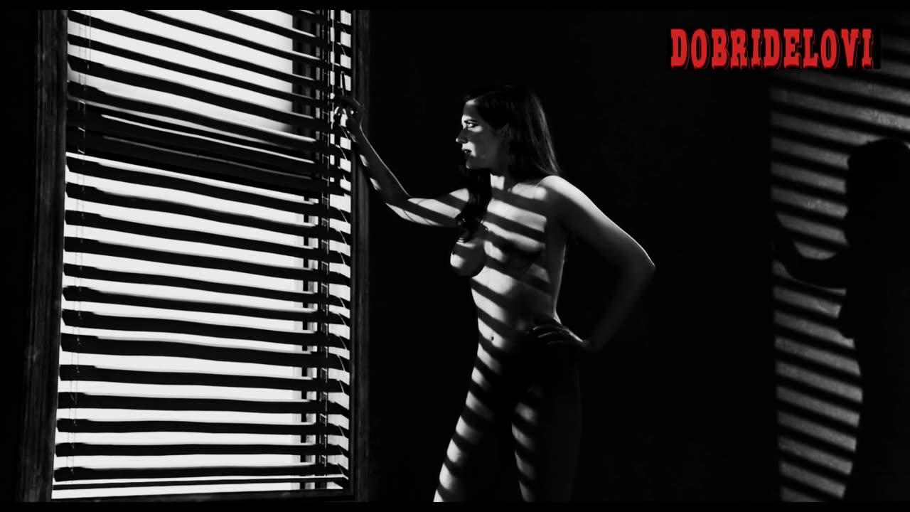 Eva Green nude post-coital scene from Sin City
