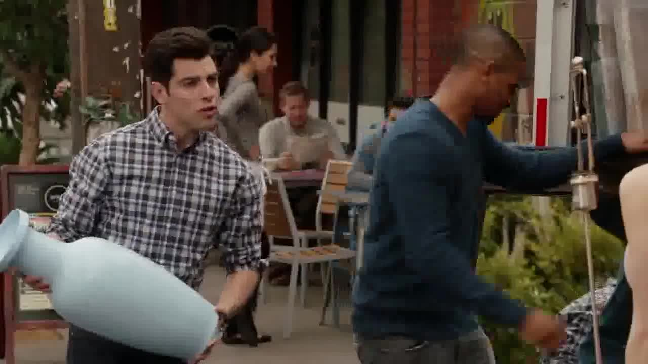 Alexandra Daddario screentime in New Girl