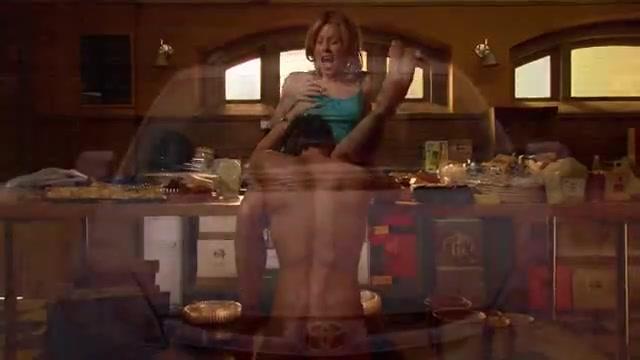 Julie Bowen oral sex scene from Weeds video image